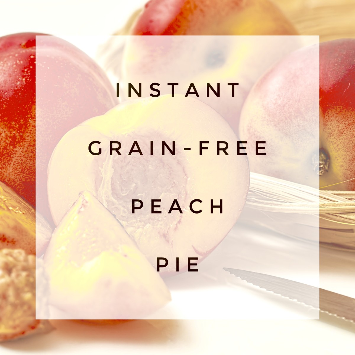 This recipe for a fast, fresh peach pie filling can be made in the microwave—enjoy all the flavors of peach pie without  the crust!