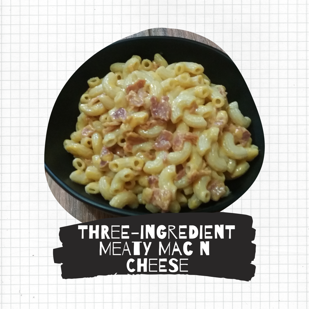 Three-ingredient meaty mac 'n' cheese