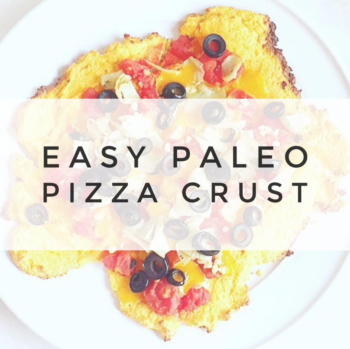 10 Minute Paleo Pizza Crust
