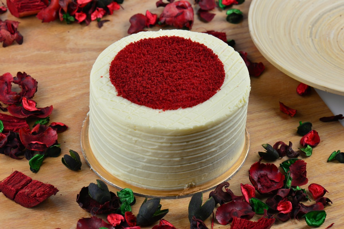 Red velvet cake, decadent and delicious!