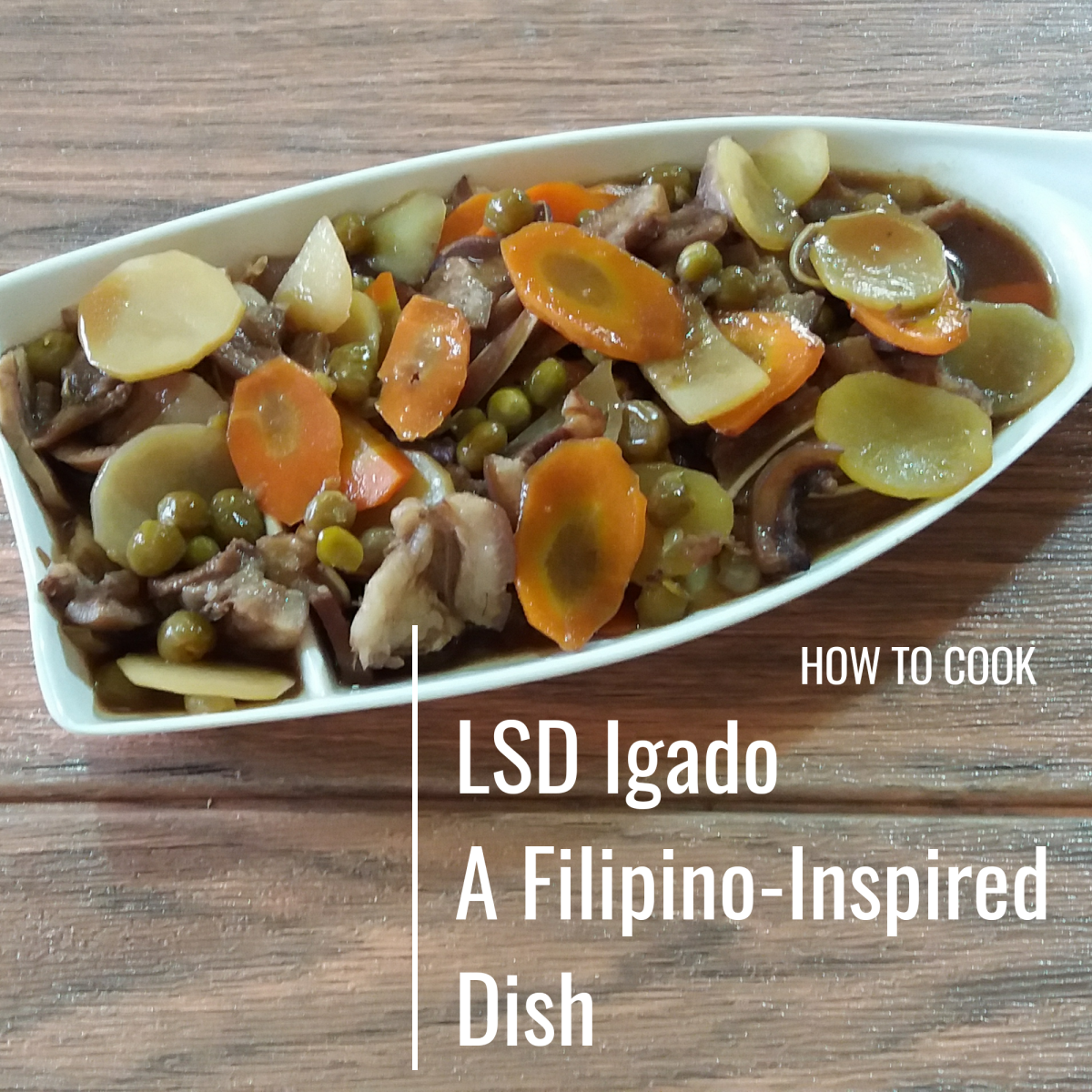 How to cook LSD igado, a Filipino dish