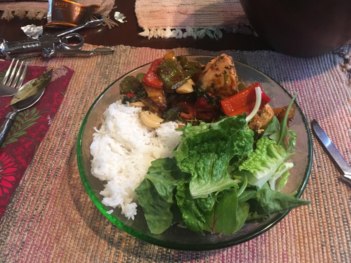 My Own Poulet Basquaise Recipe