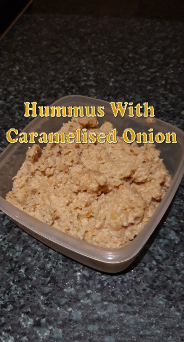 Hummus With Caramelised Onion Recipe