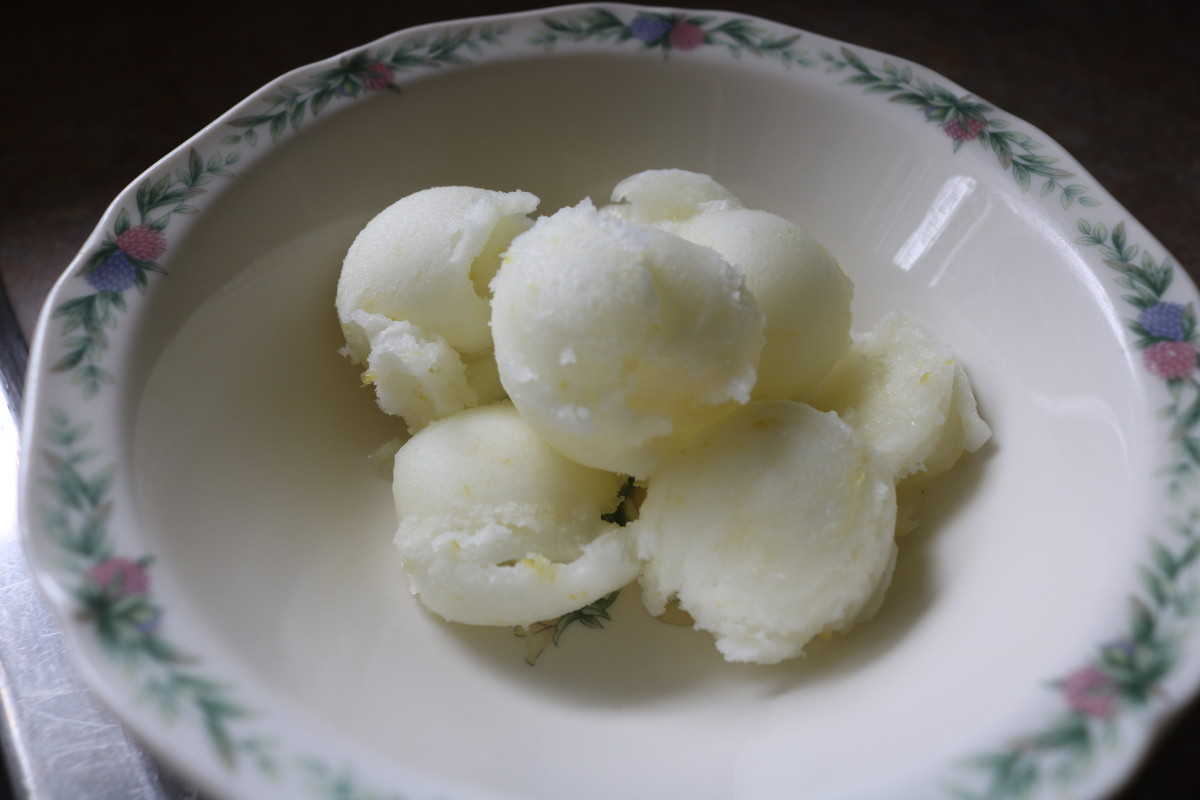 Perfect and Easy Recipe for Homemade Lemon Sorbet