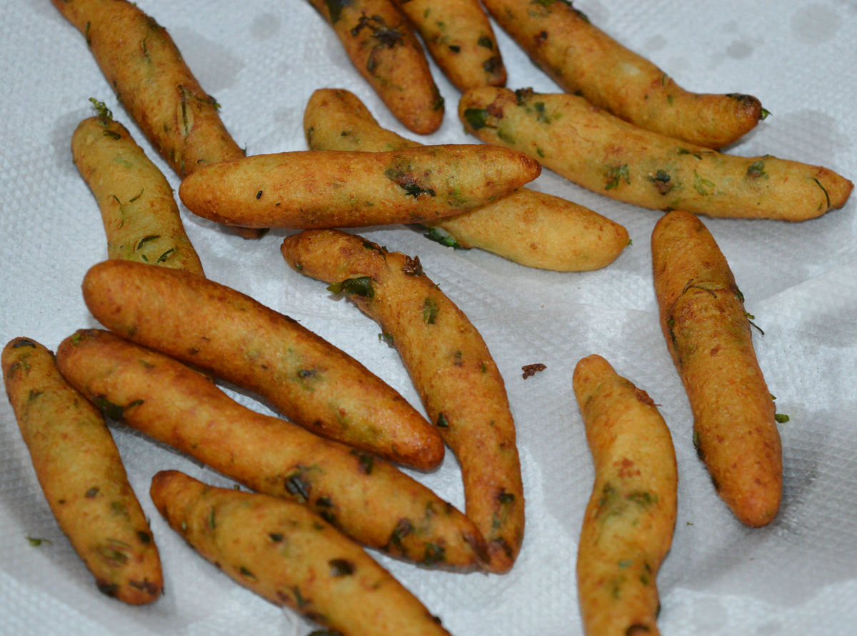 Melt-in-your-mouth crispy potato fingers