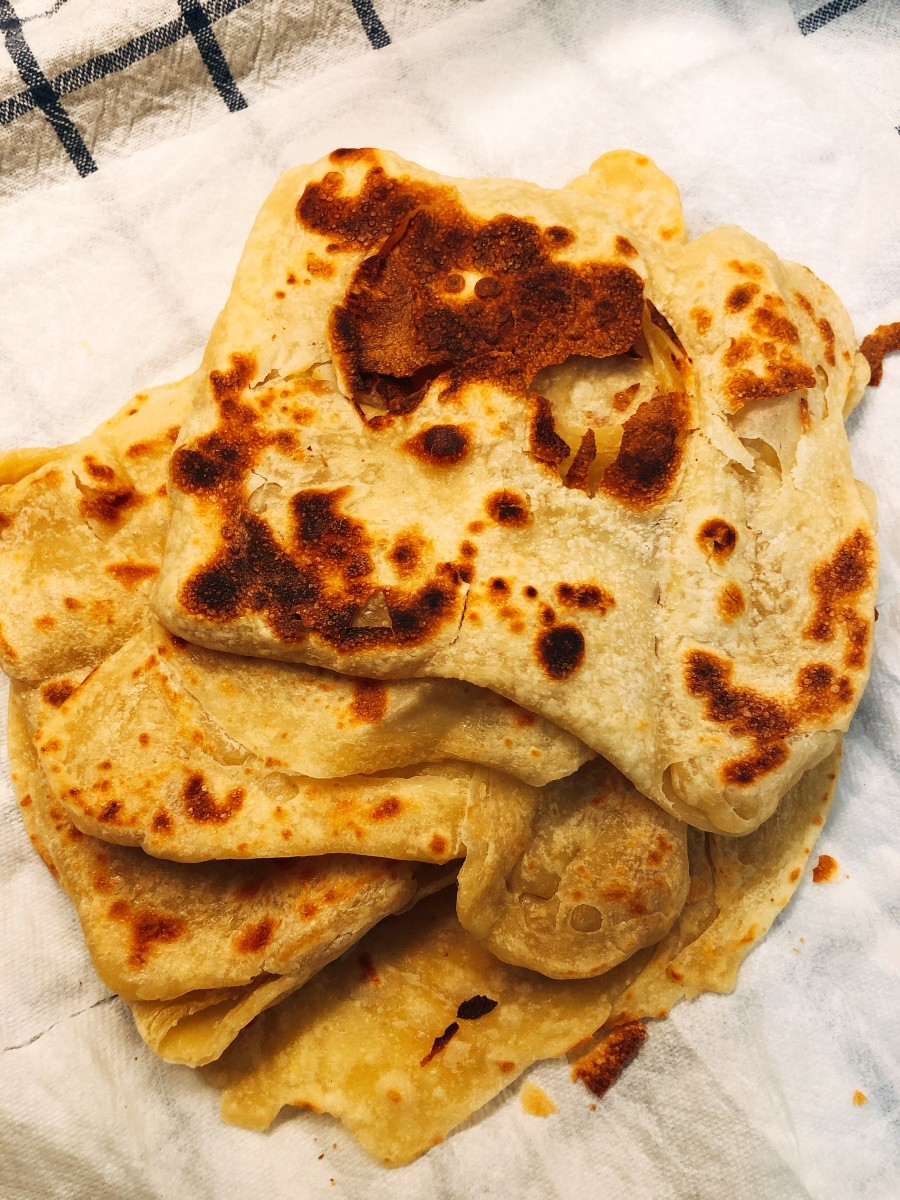 How to Make Malaysia's Favorite Breakfast Snack: Roti Canai