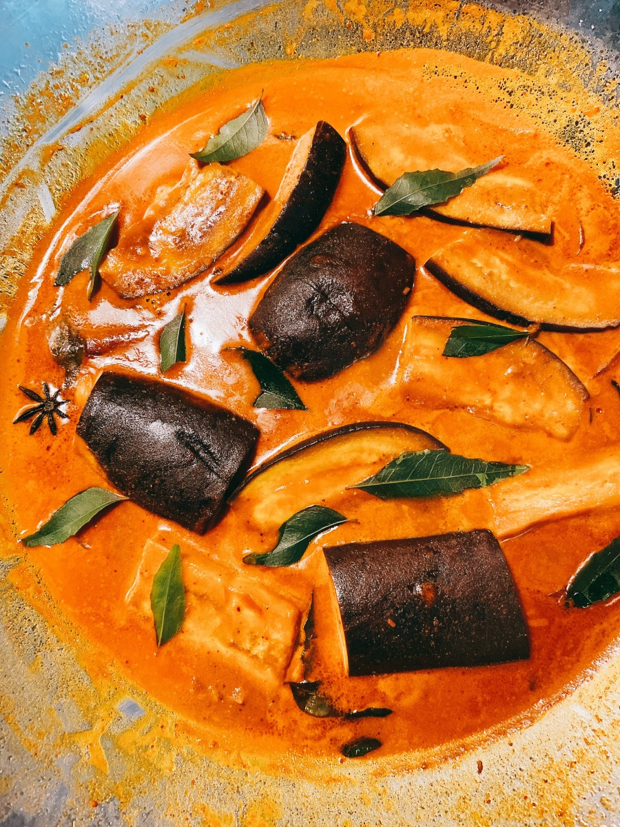 Malay-Style Eggplant Curry (Pajeri Terung)
