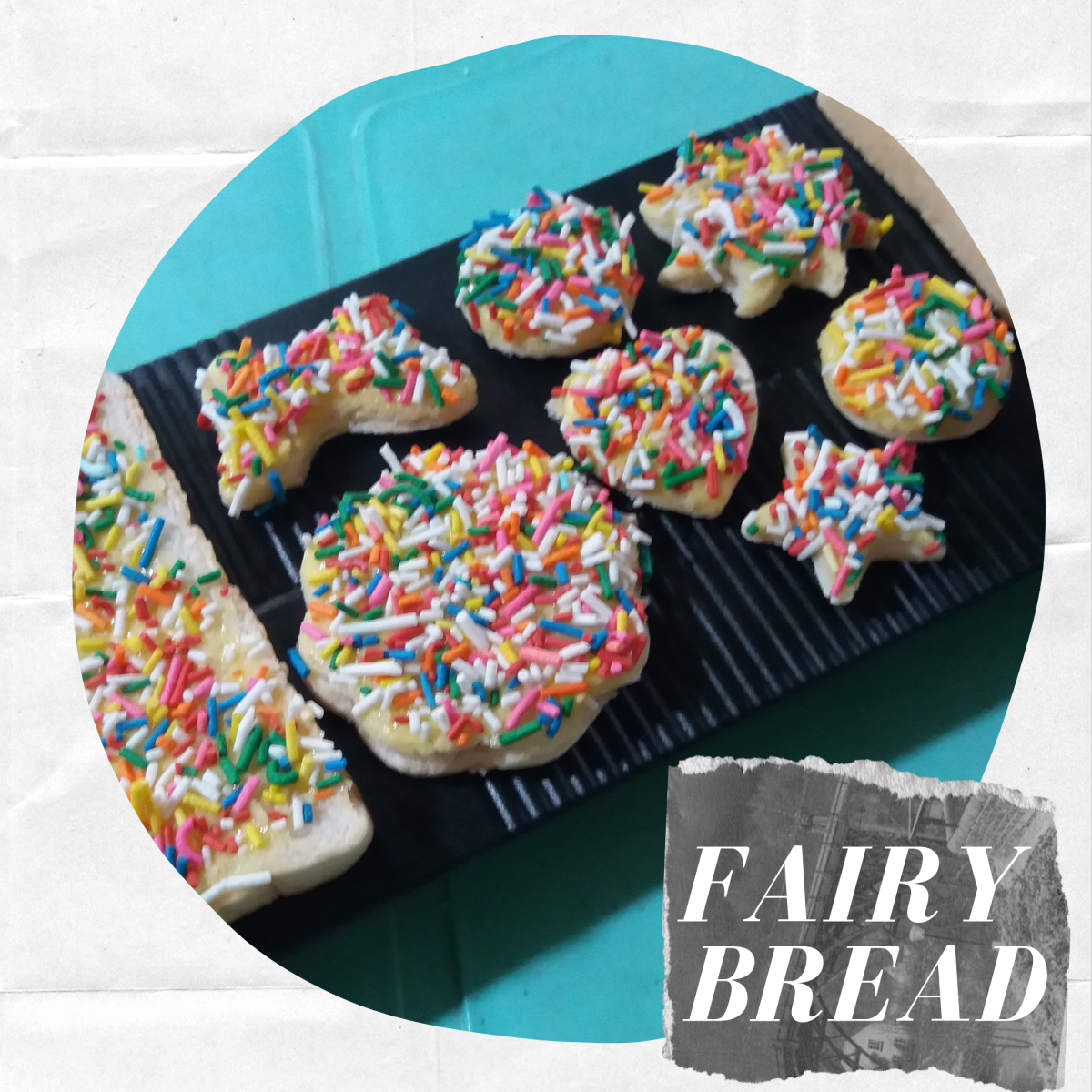 Fairy bread is a popular kids' treat