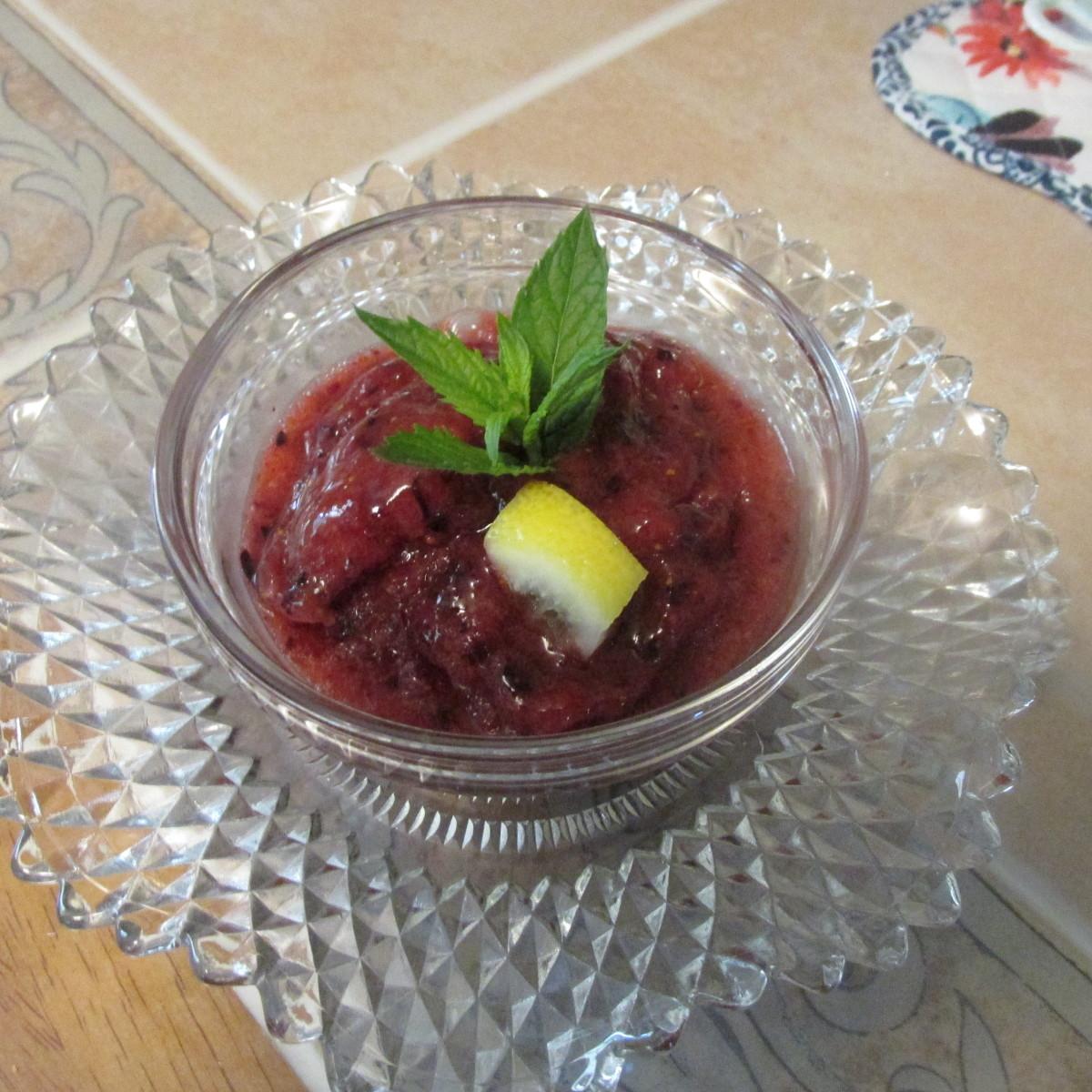 How to Make Fresh Fruit Sorbet
