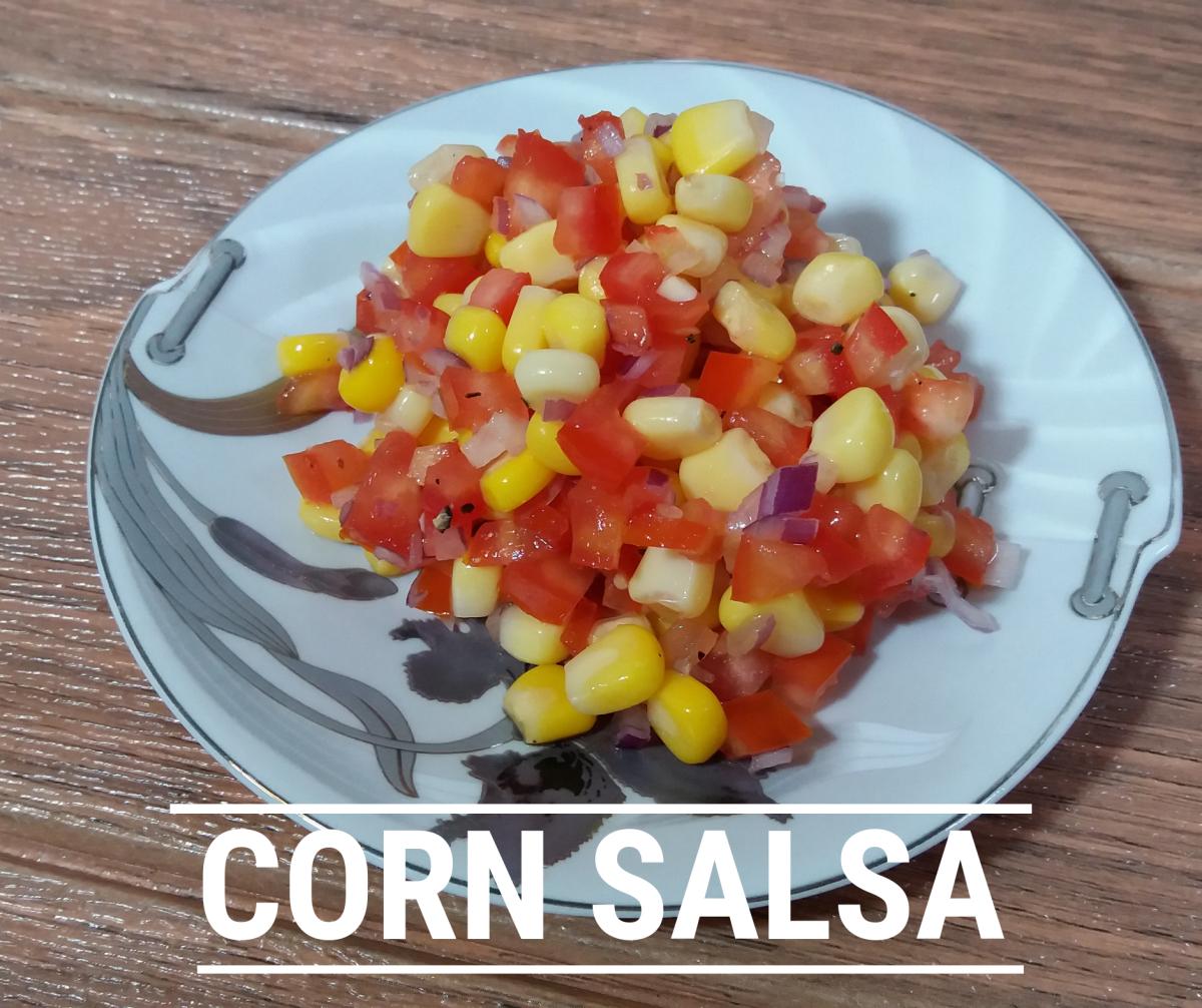 Learn how to make corn salsa