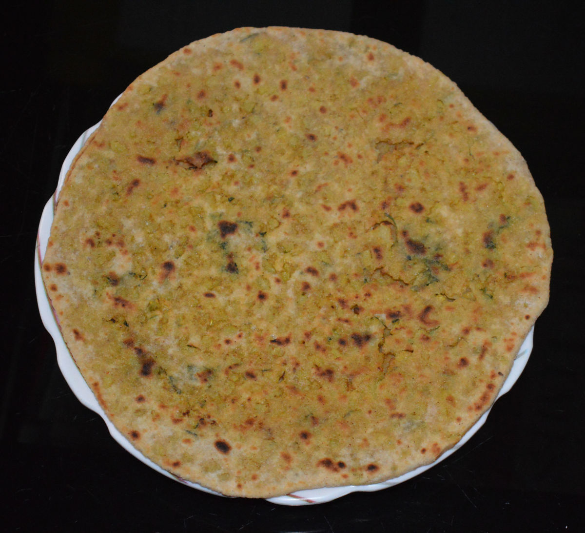 Cauliflower-Stuffed Indian Flatbread (Gobi Paratha) Recipe