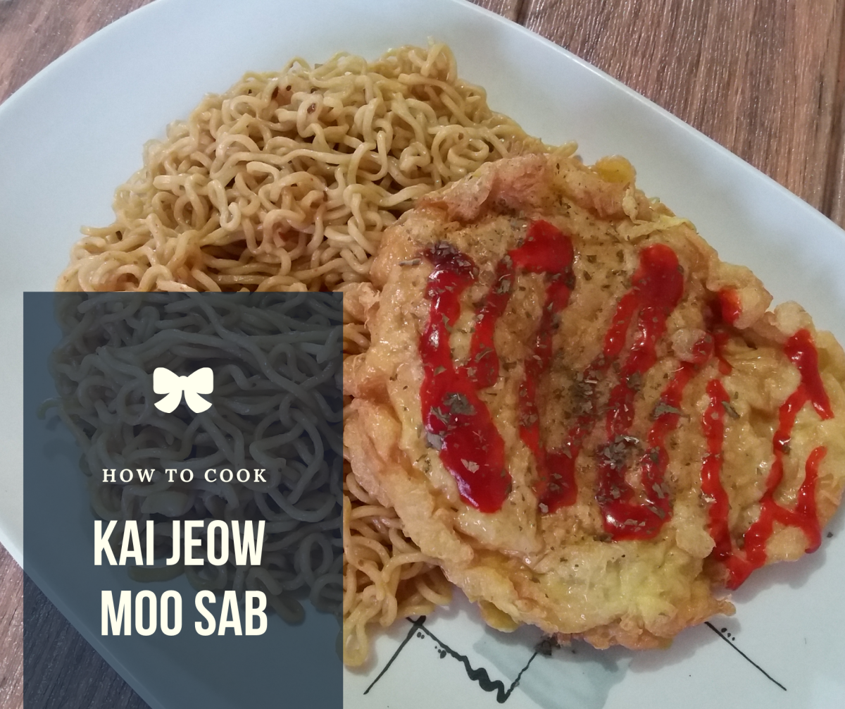 Learn how to prepare kai jeow moo sab.