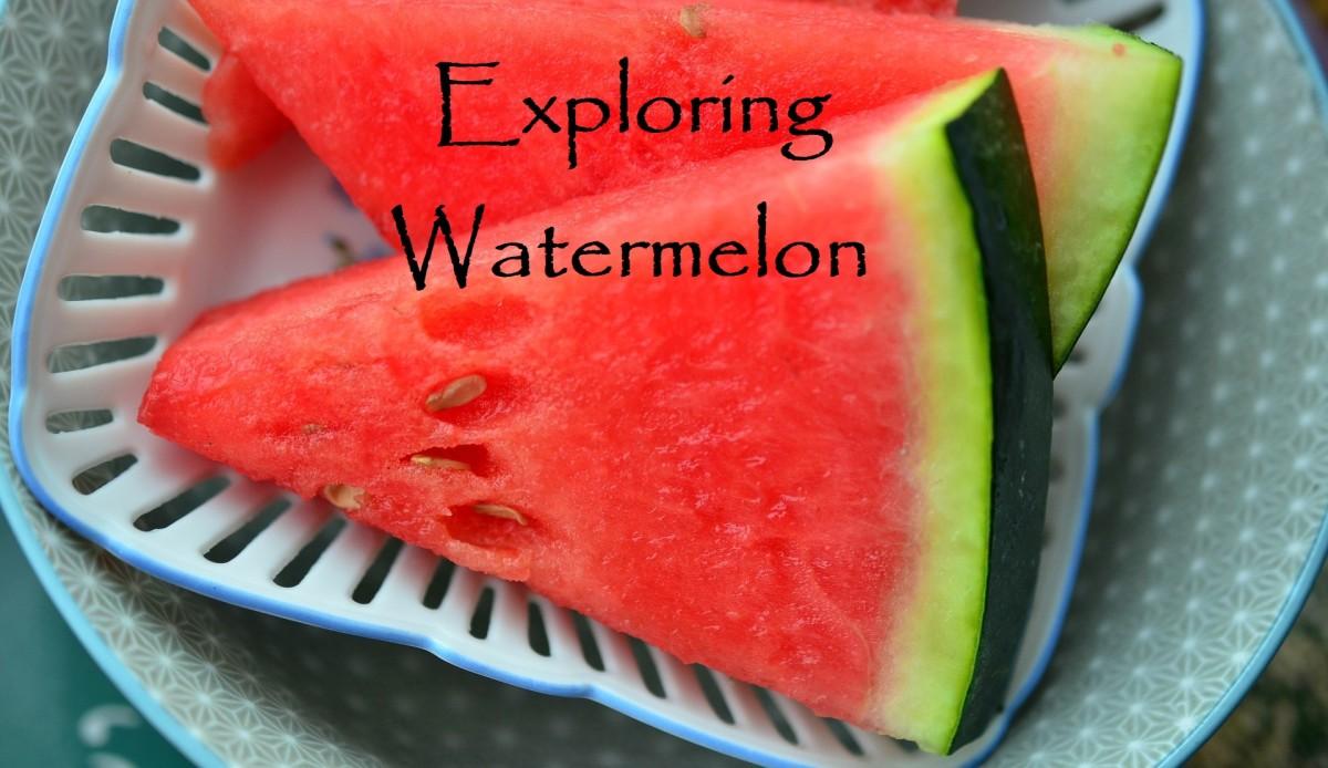 Watermelon is a popular summertime treat.