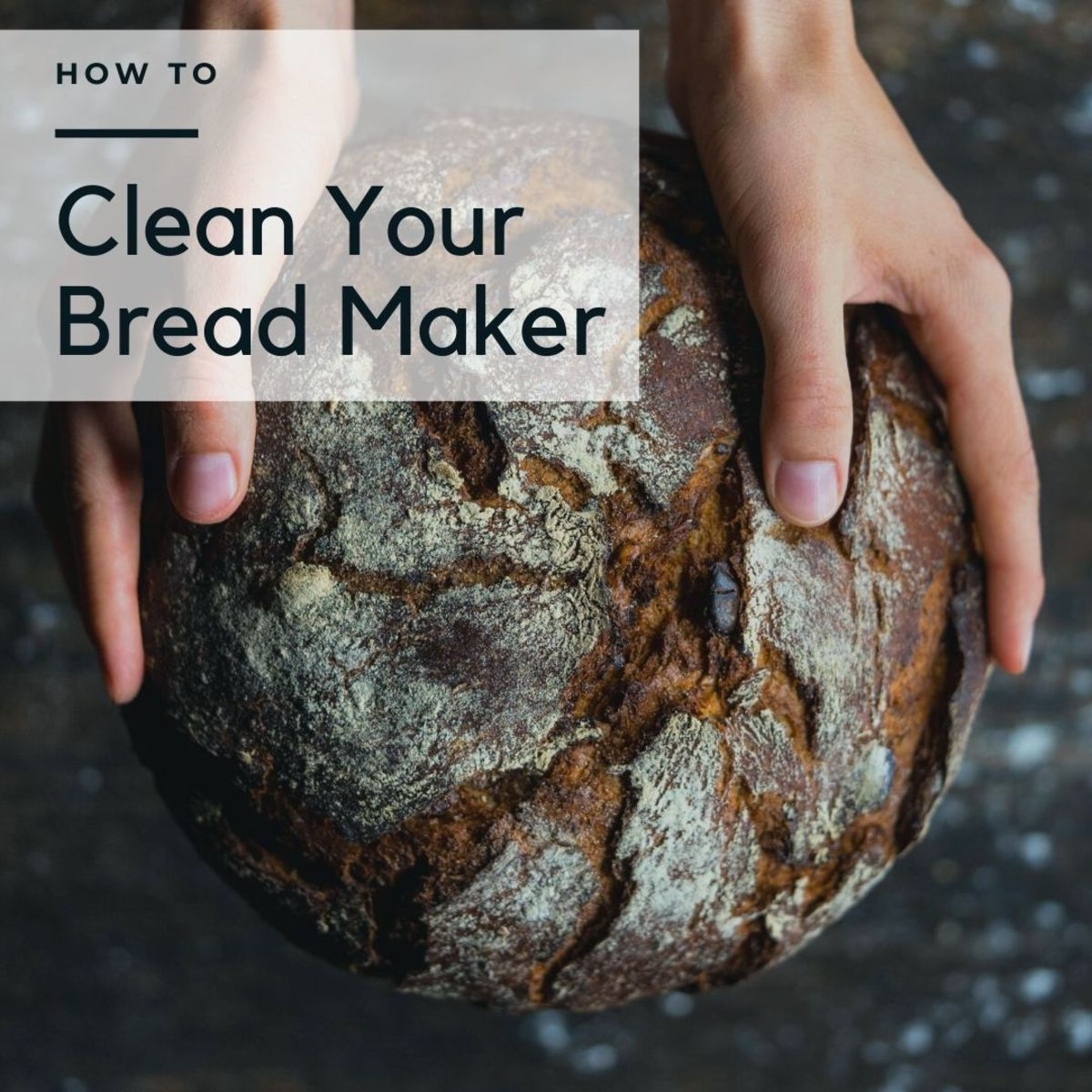 Learn how to clean your bread machine in just four easy steps.