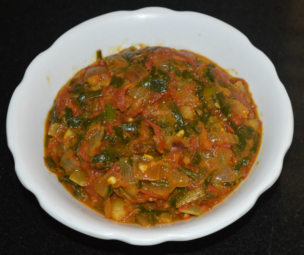 A Simple and Delicious Spring Onion Curry