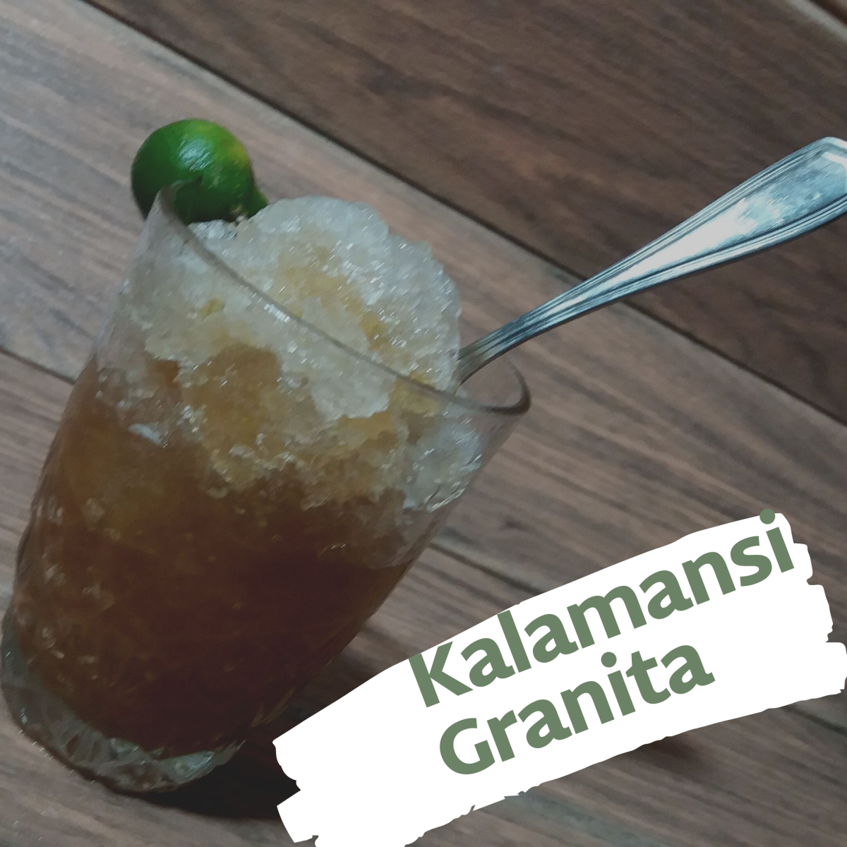 Learn how to make a refreshing kalamansi granita