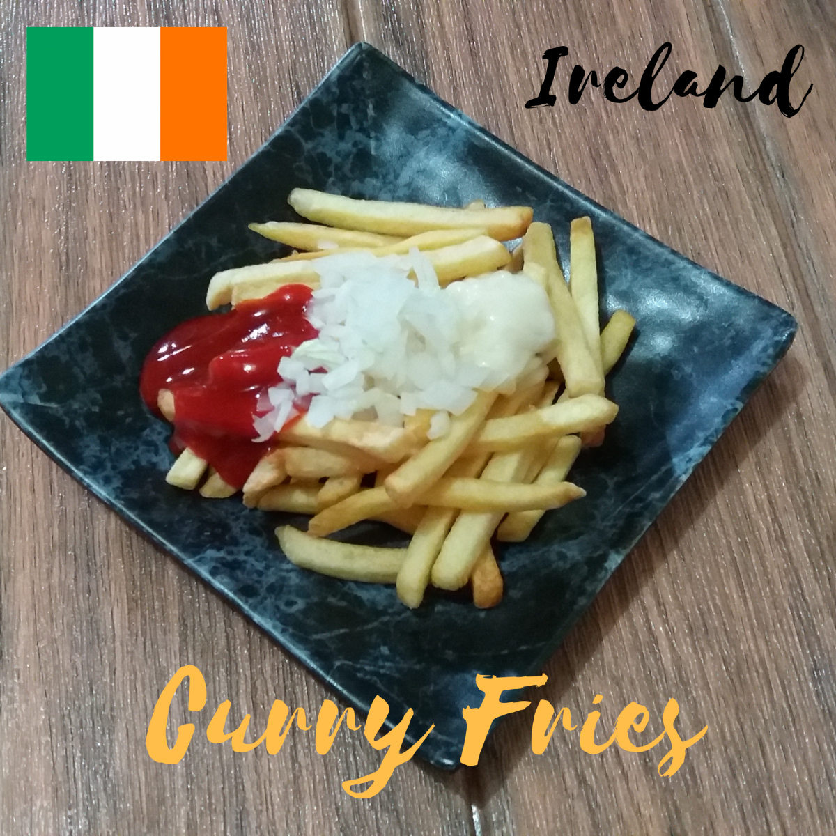 How to Make Curry Fries: An Irish-Inspired Snack