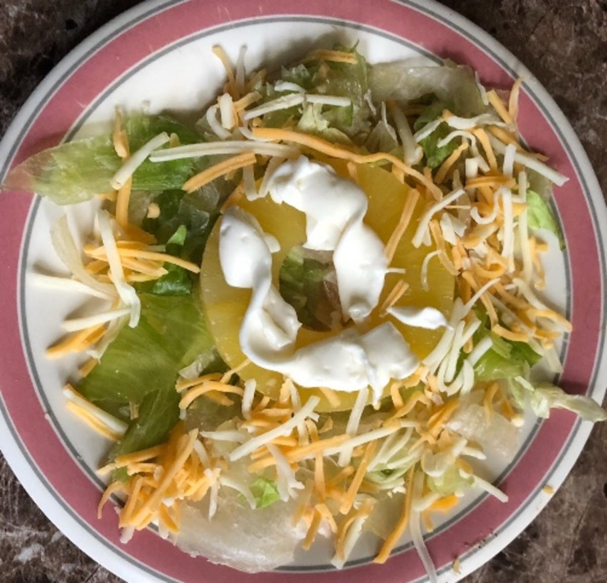 Grandma Enie's pineapple salad
