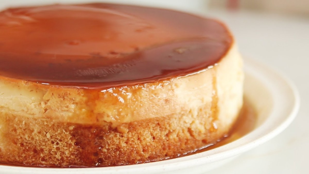 Chiffon Custard Cake