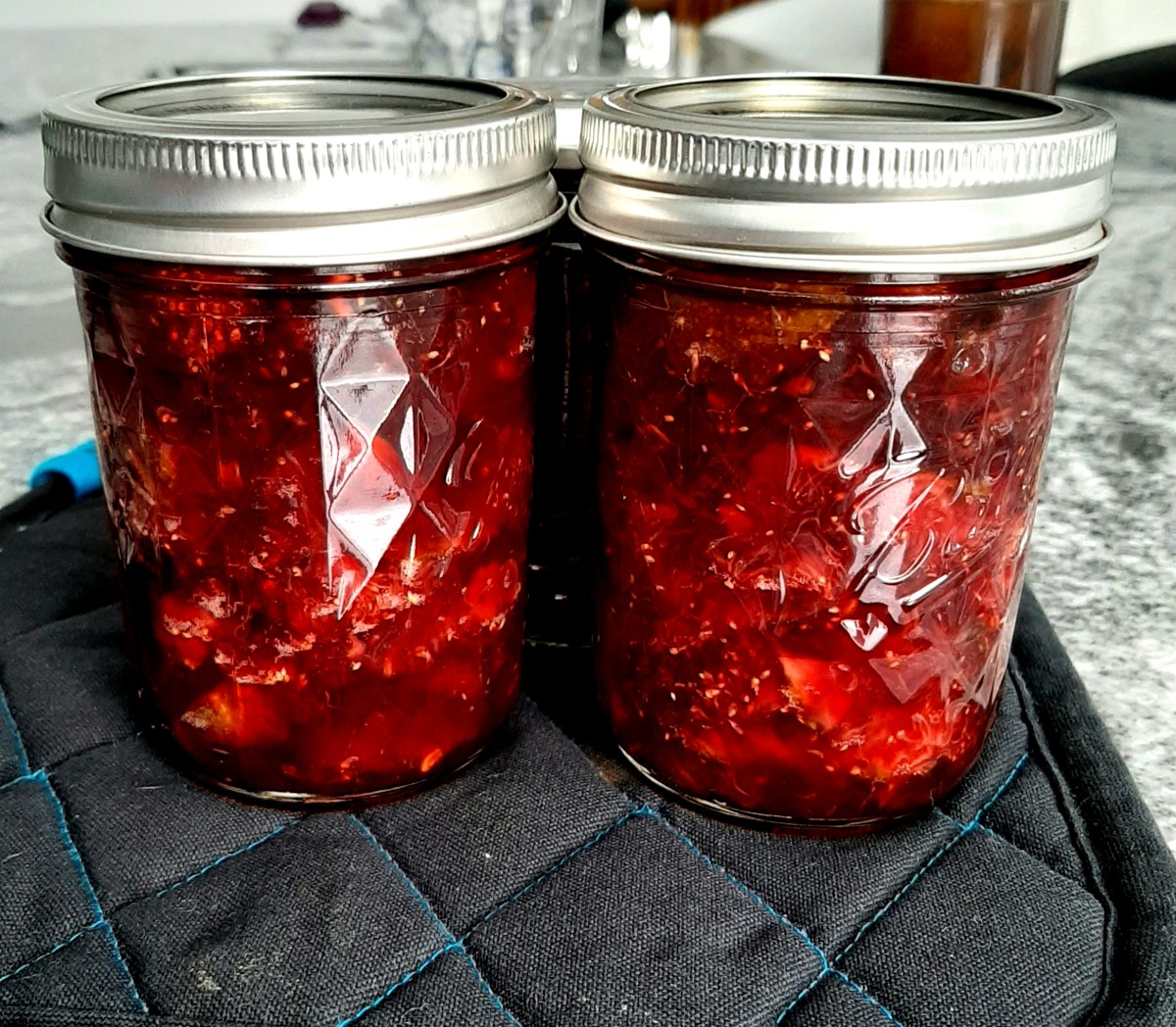 Fig Jam With Lime and Chilli