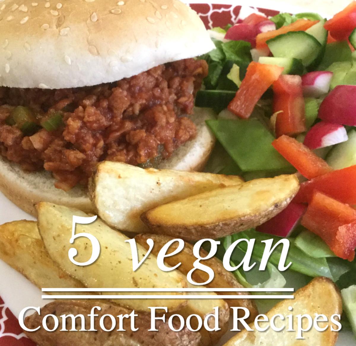 Top 5 Vegan Comfort Food Recipes
