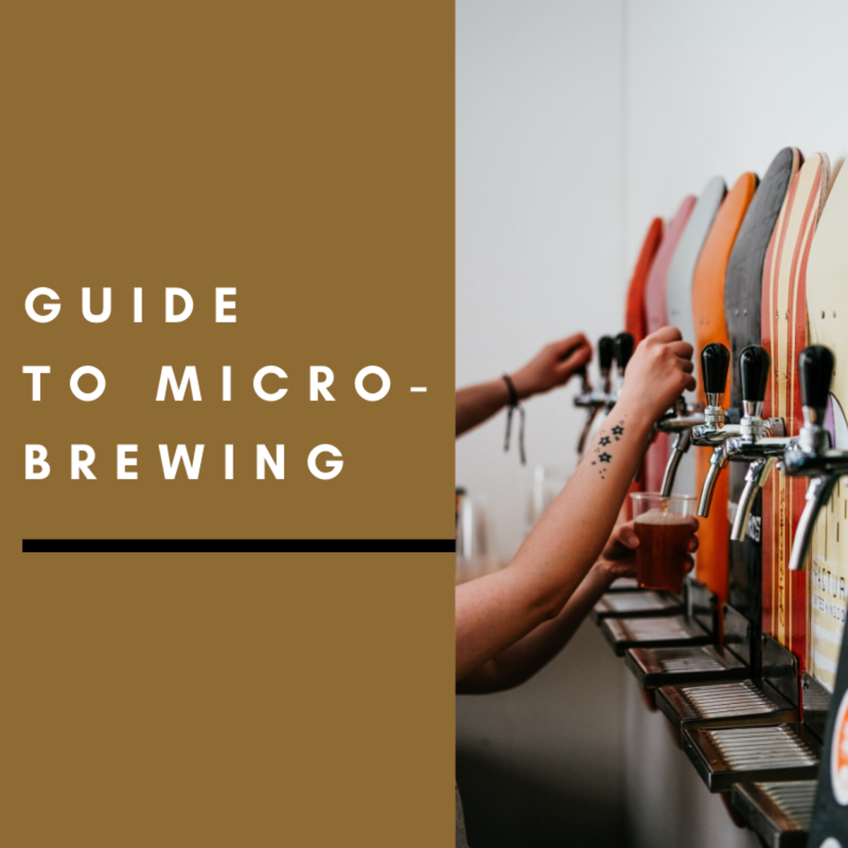 Micro-brewing has become a popular hobby for many.