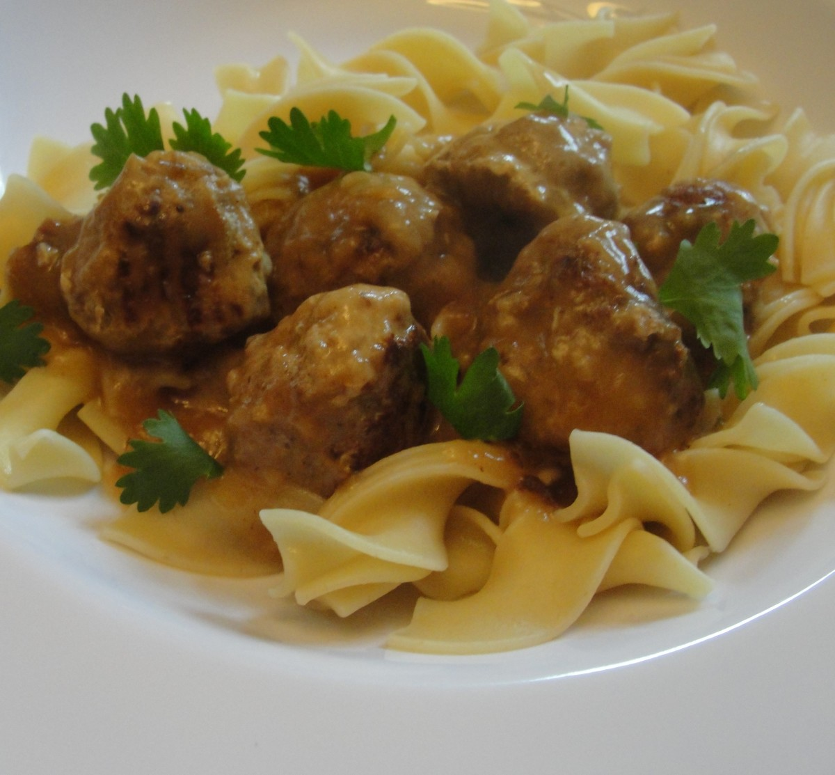 Perfect Swedish meatballs that don't require a trip to IKEA!