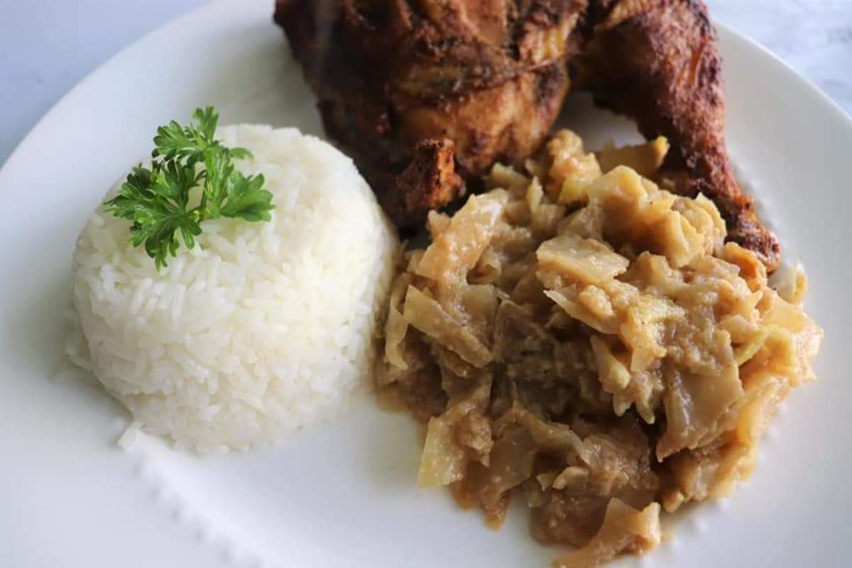 How to Cook Congolese Peanut Butter Cabbage Sauce