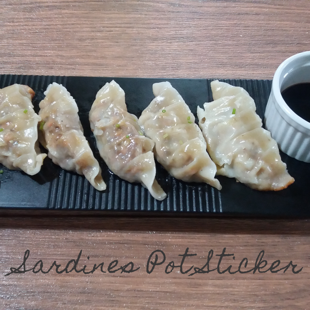 Learn how to make sardine potstickers