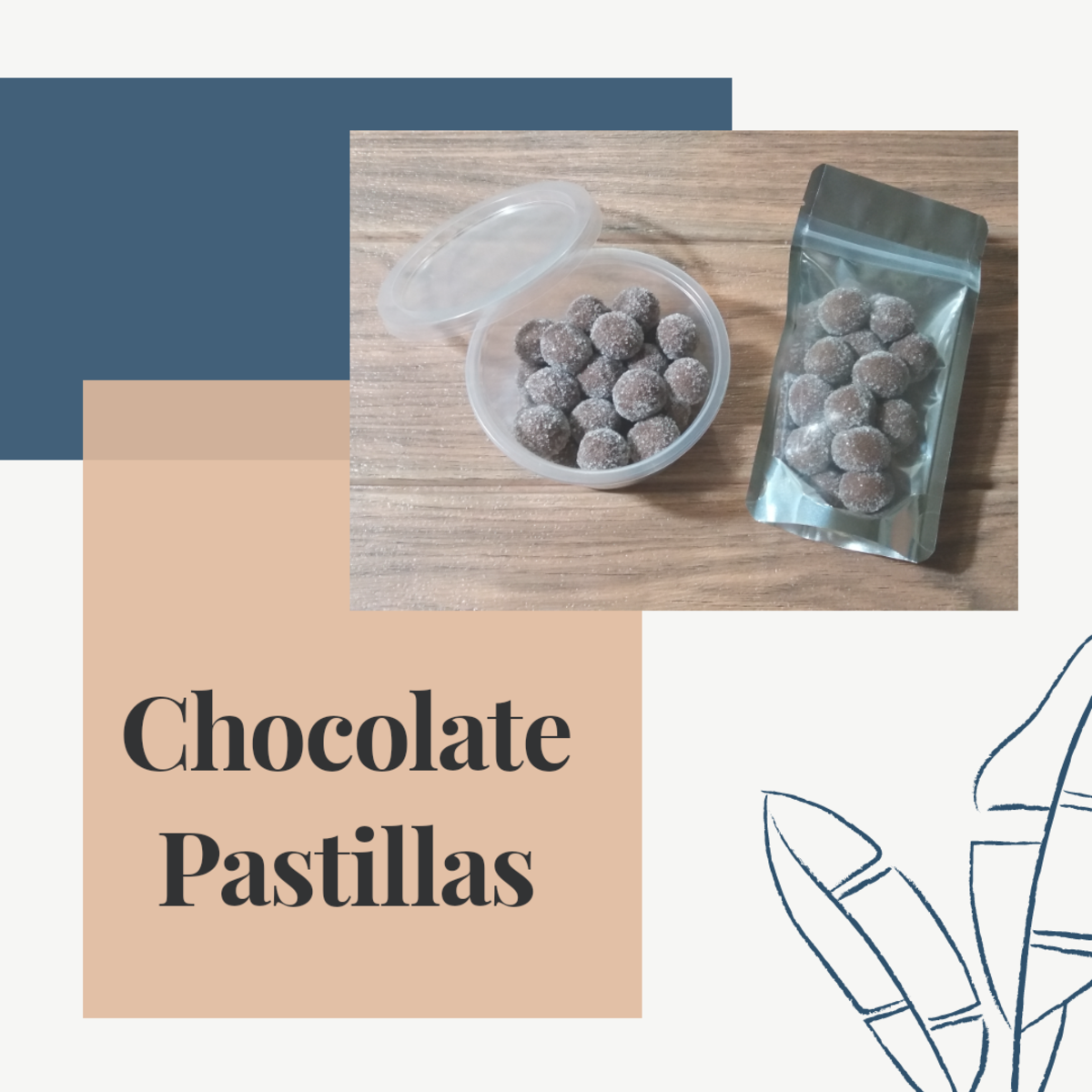 How to Make Chocolate Pastillas