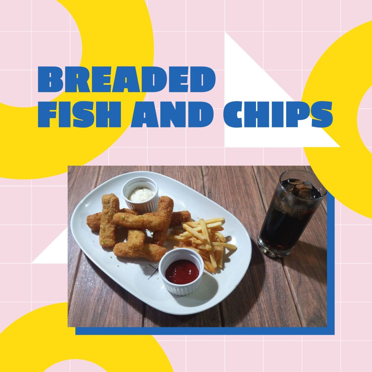 Learn how to cook breaded fish and chips