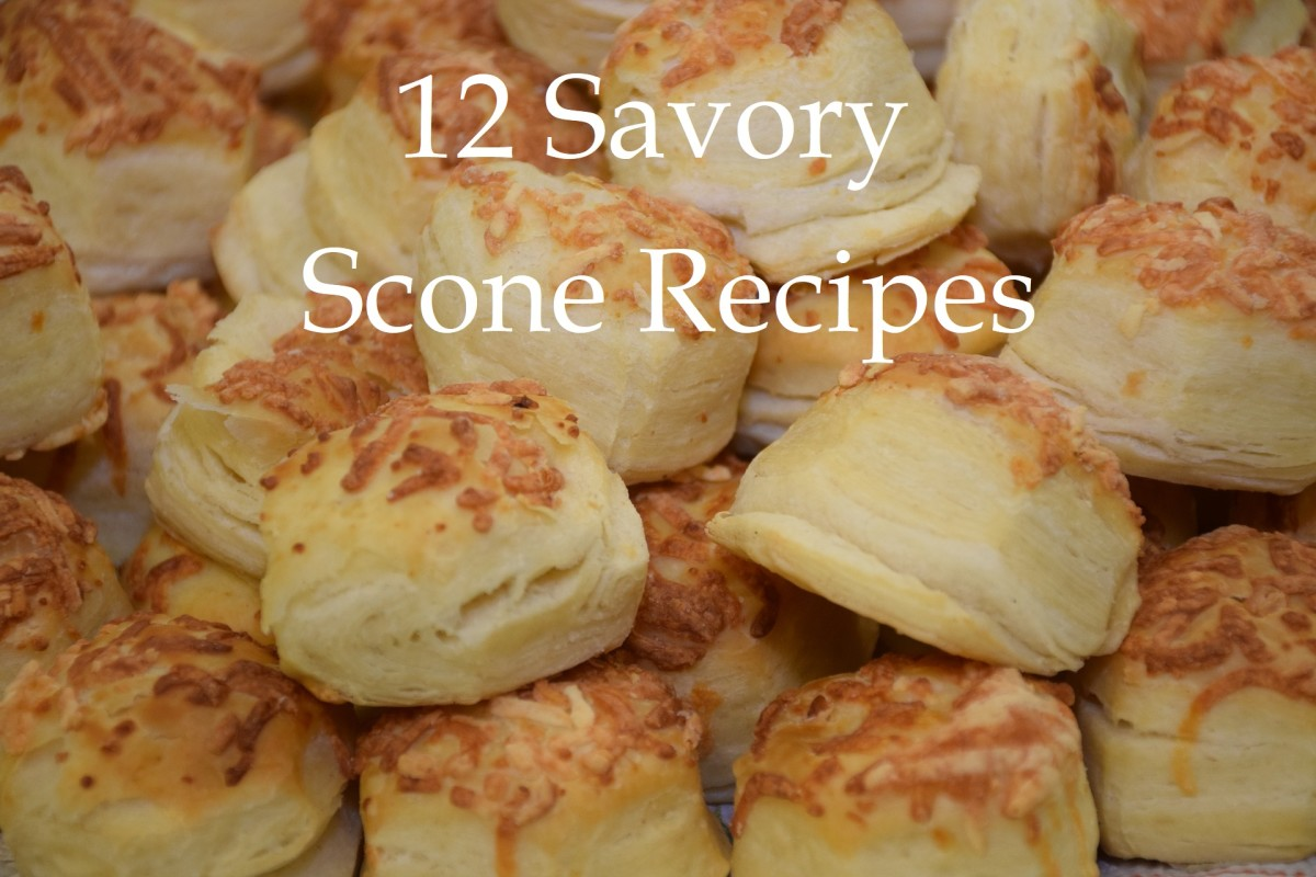 12 Savory Scone Recipes (One for Each Month of the Year)