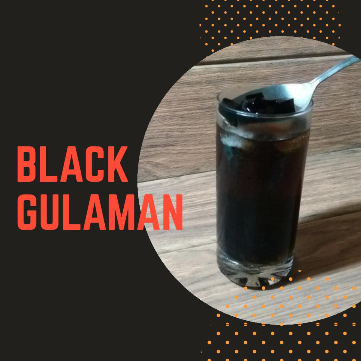 How to Make Black Gulaman