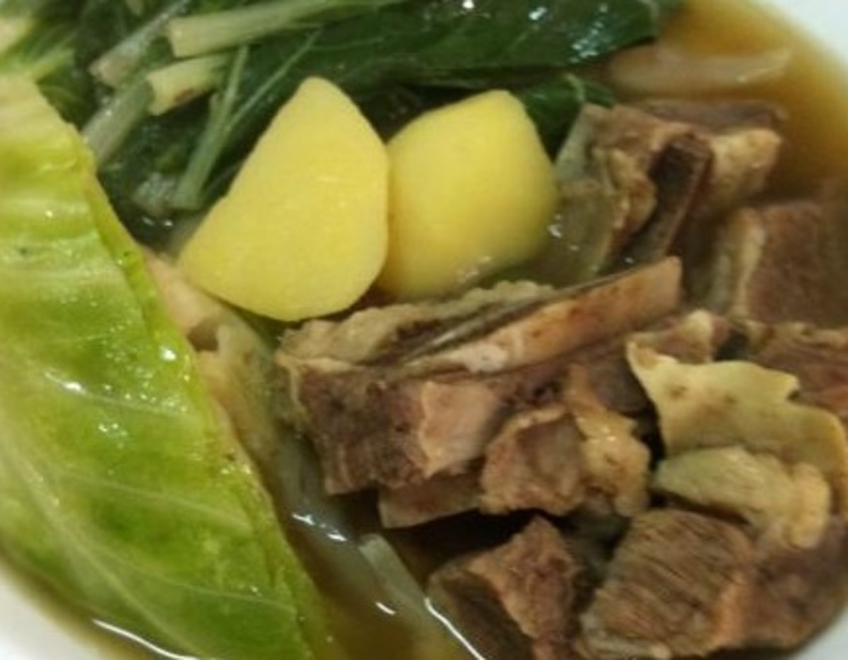 How to Make Filipino Beef Soup in 5 Easy Steps