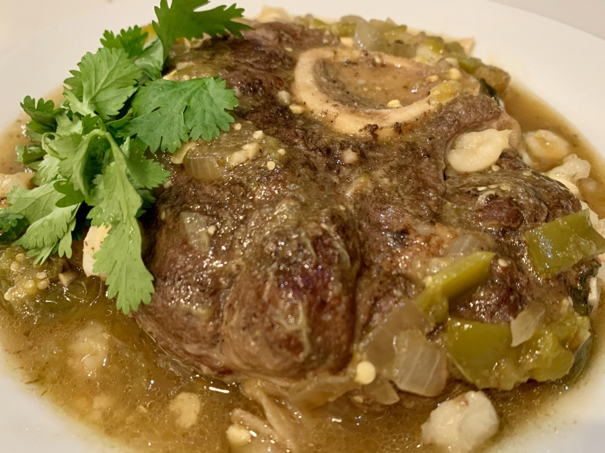 Braised Beef Shank With Hatch Chile