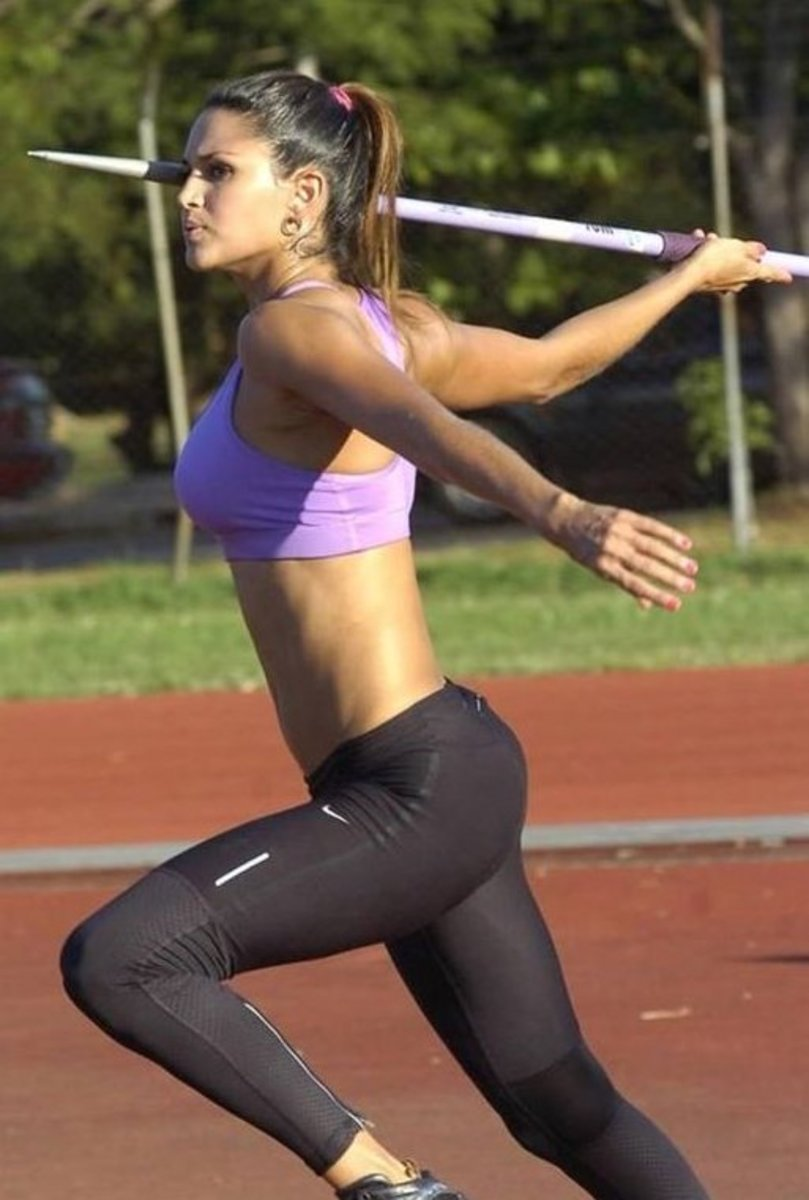 Javelin Training to Build an Athletic Butt