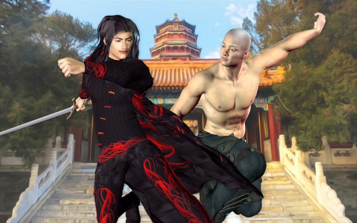 The fascinating world of Chinese Wuxia novels, movies, and television series..
