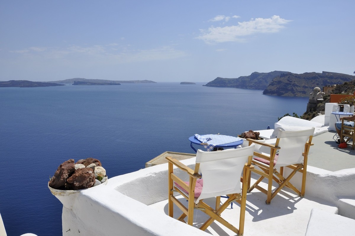 Breathtaking views on Santorini