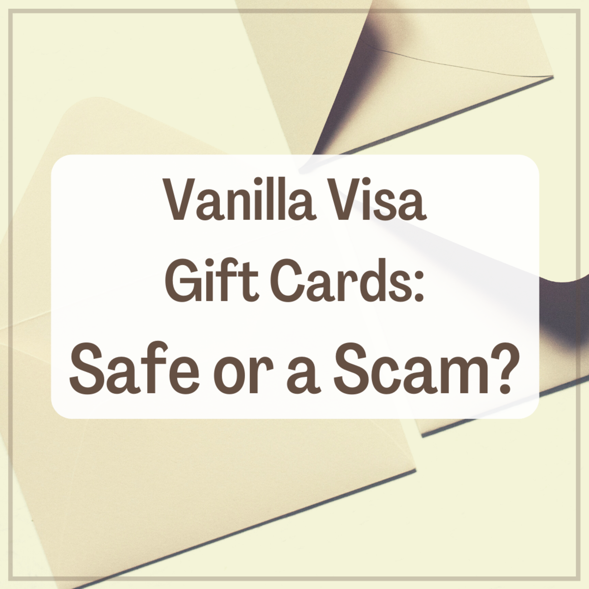 Is the Vanilla Visa Gift Card a Scam? (My Experience)