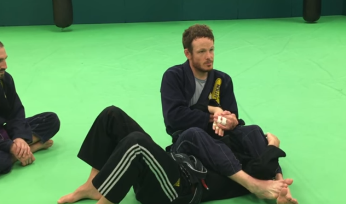 How to Wristlock Against a Lapel Grab Armbar Defense in BJJ