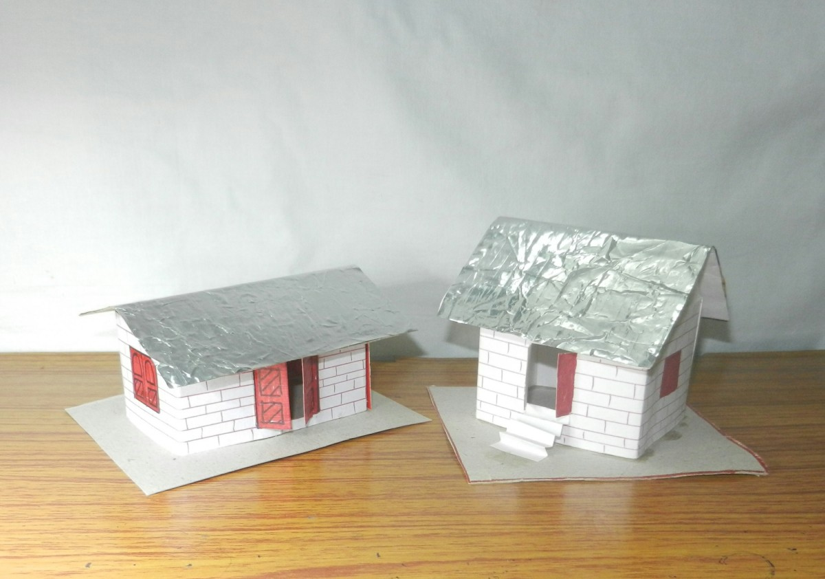 How to Make a 3D Paper House—an easy Craft for Kids