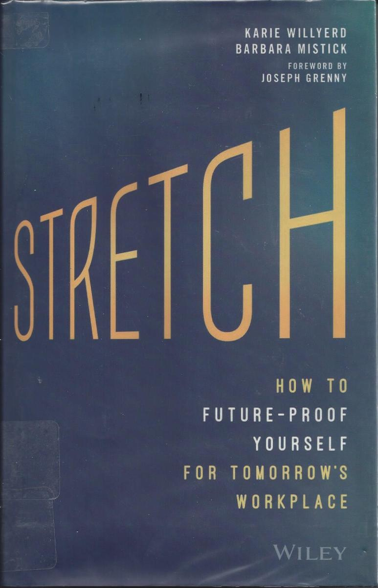 """Cover of the book """"Stretch"""""""