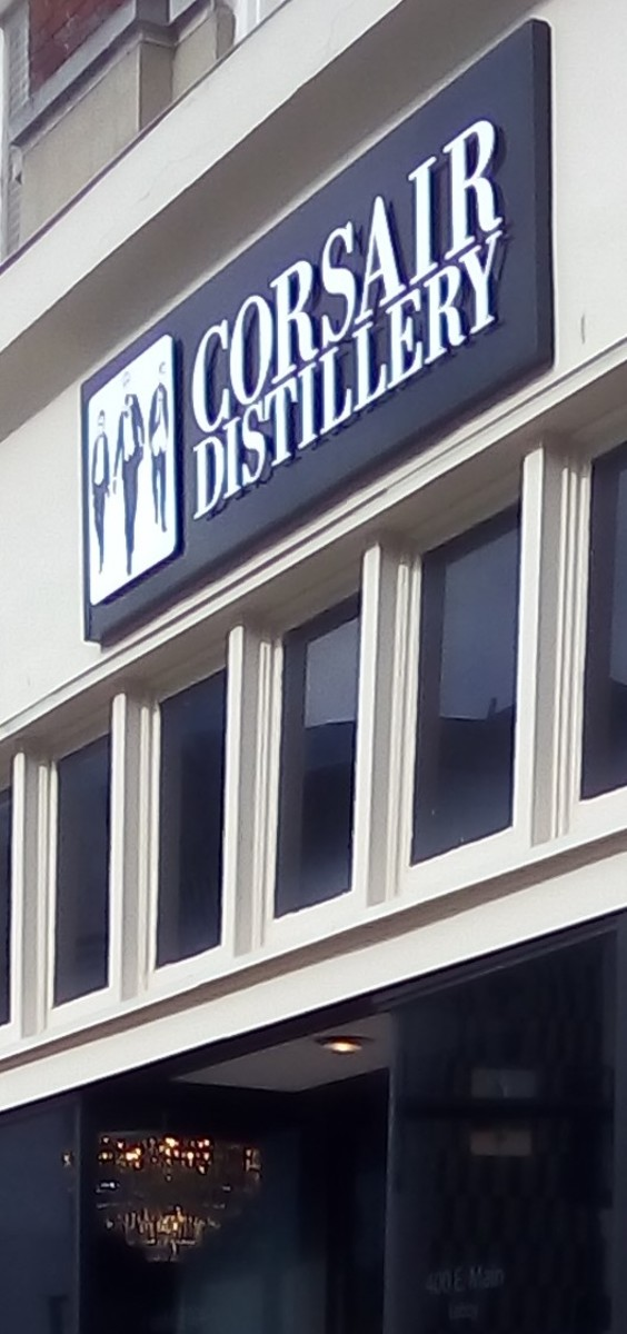 Traveling Around - Touring The Corsair Distillery