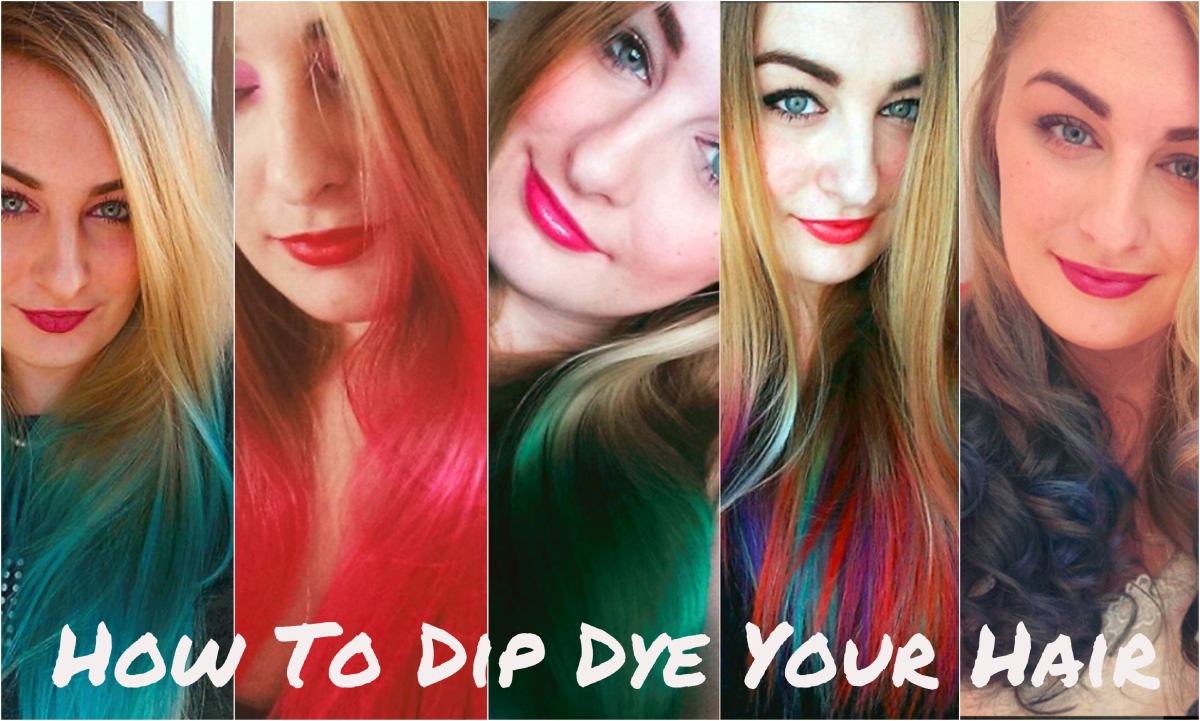 Dip dying your hair at home can be easy if you follow my guide.