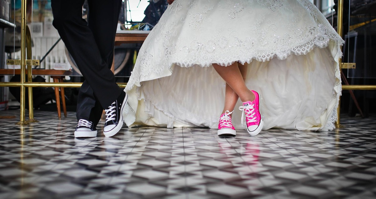 A Wedding Dress or Once upon a Shoe