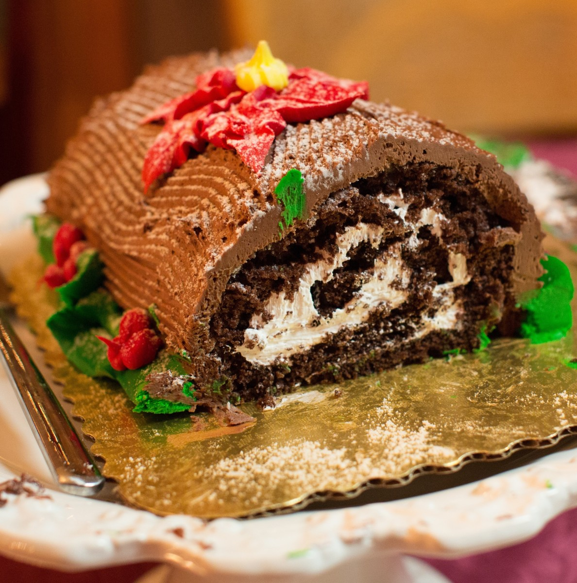 History of the Yule Log and How to Make Your Own