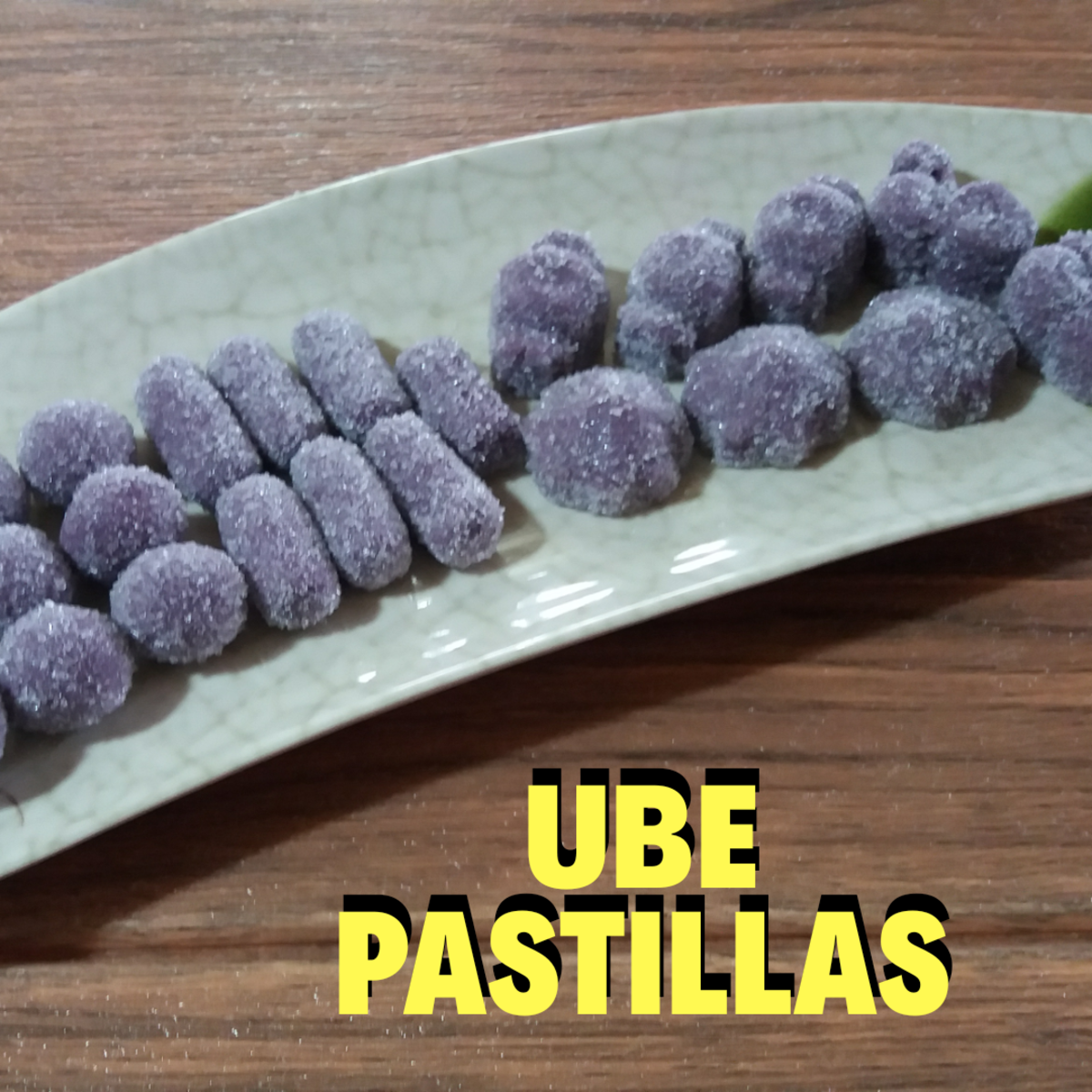 Learn how to make ube pastillas