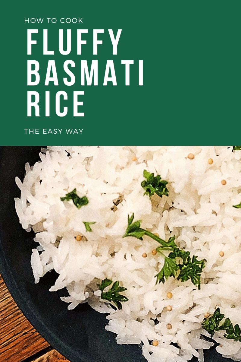 Easy Fluffy Basmati Rice