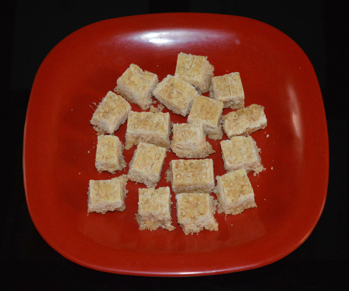 How to Make Quick and Easy Ginger Burfi