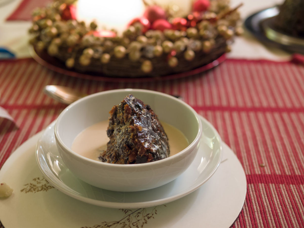 Easy Instant Pot or Pressure Cooker British Christmas Pudding